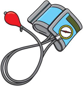 High Blood Pressure Clip Art.