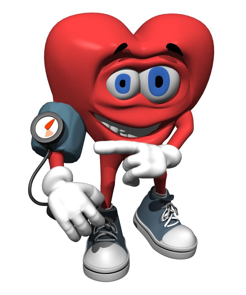 Cartoon Blood Pressure Clipart.