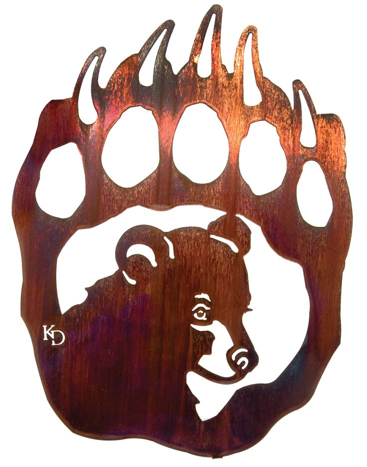 Timberland high school wolves paw print clipart.
