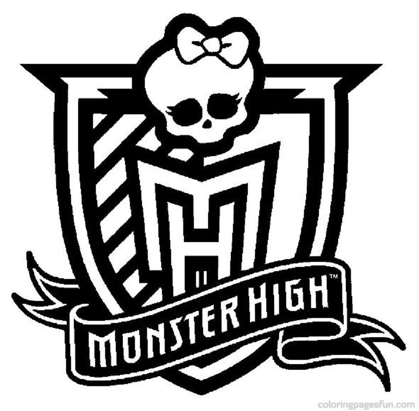 Monster high clipart to print.