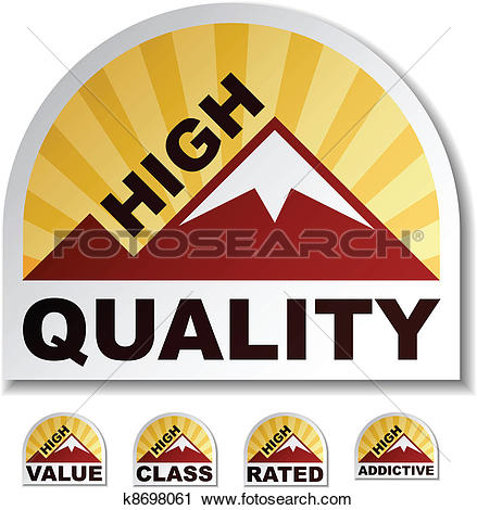 Clipart of vector high quality value class rated addictive.