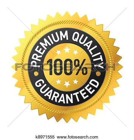 Clipart of Premium quality label k8971555.