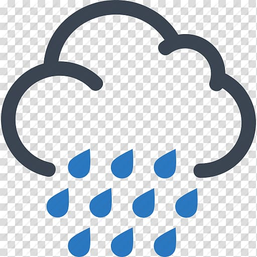 Computer Icons Thunderstorm Rain Cloud, Free High Quality.