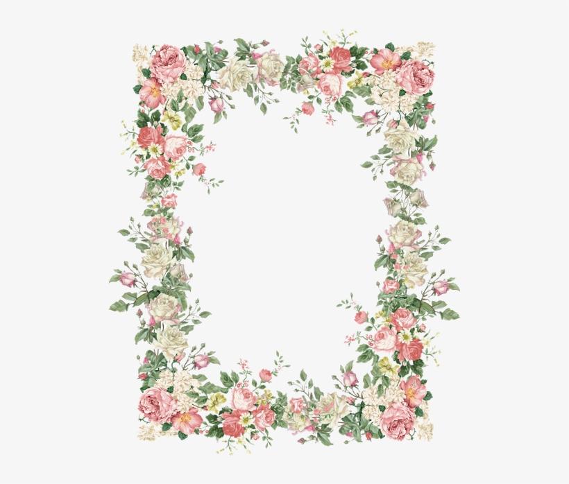 15 Vintage Floral Border Png For Free Download On Mbtskoudsalg.