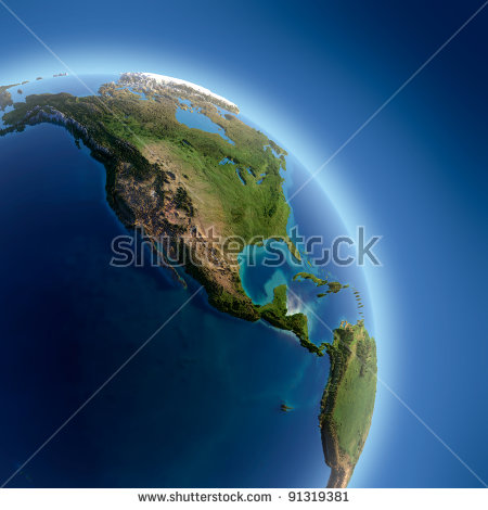 Earth Land Map Stock Photos, Images, & Pictures.