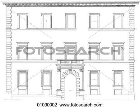 Clip Art of Architecture.