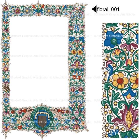 Renaissance Clipart Borders.