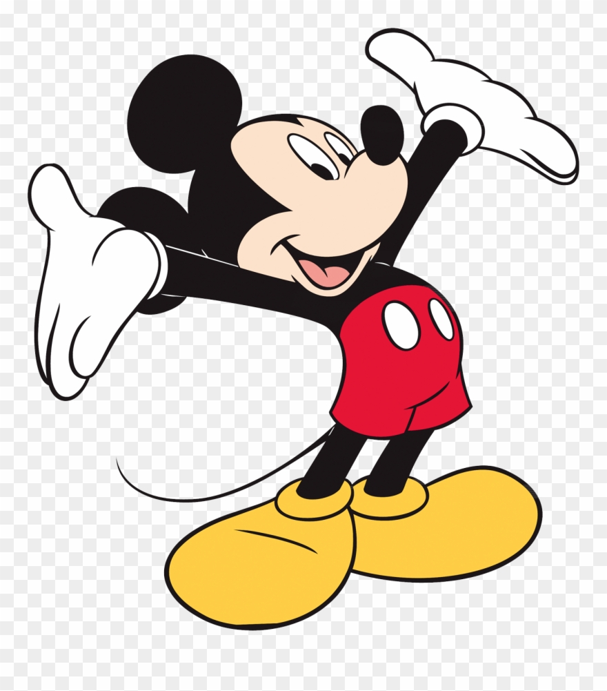 Mickey Mouse High Resolution Clipart (#1825344).