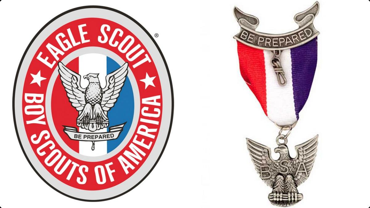 Showing post & media for Boy scout eagle symbol.