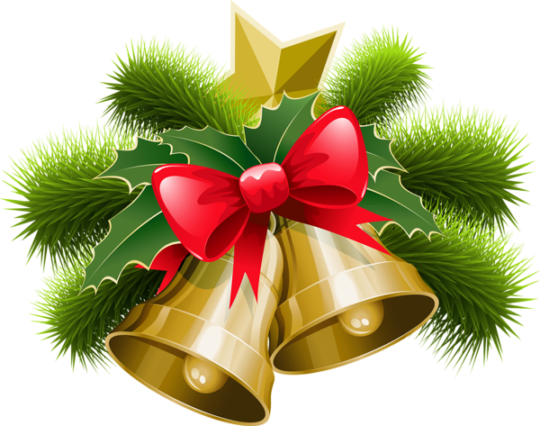 High Resolution Christmas Bell Png Clipart #30836.