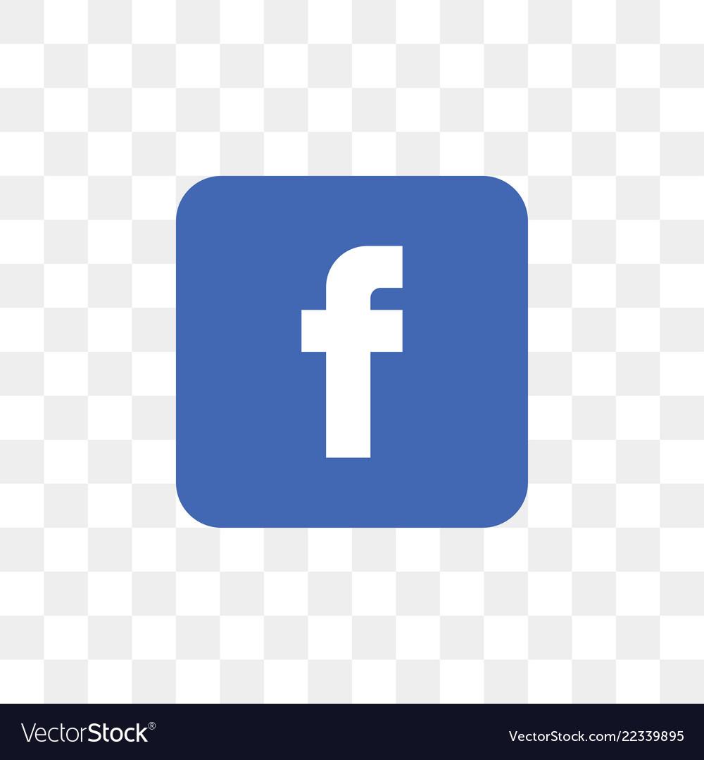 Facebook social media icon design template.