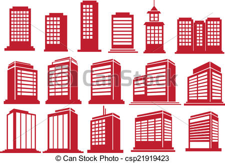 High rise buildings Clipart Vector Graphics. 1,215 High rise.