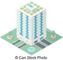 High rise building Clipart Vector Graphics. 1,215 High rise.