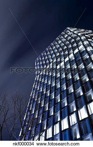 Stock Photo of Germany, Hamburg, Modern skyscrapers Dancing Towers.