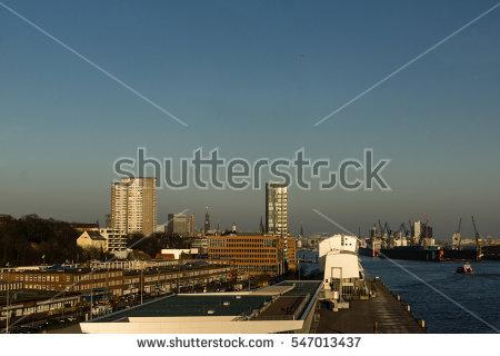 Hamburg Skyline Stock Photos, Royalty.