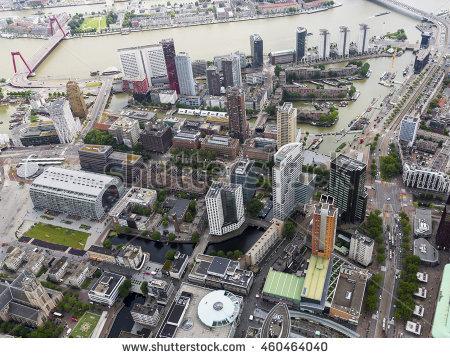 Rotterdam Building Stock Photos, Royalty.