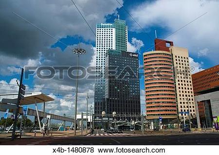 High rise buildings the rotterdam clipart #18