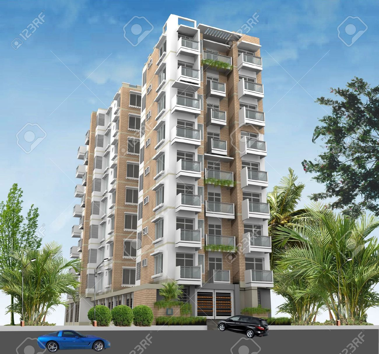 High Rise Residential Building Clipart Clipground