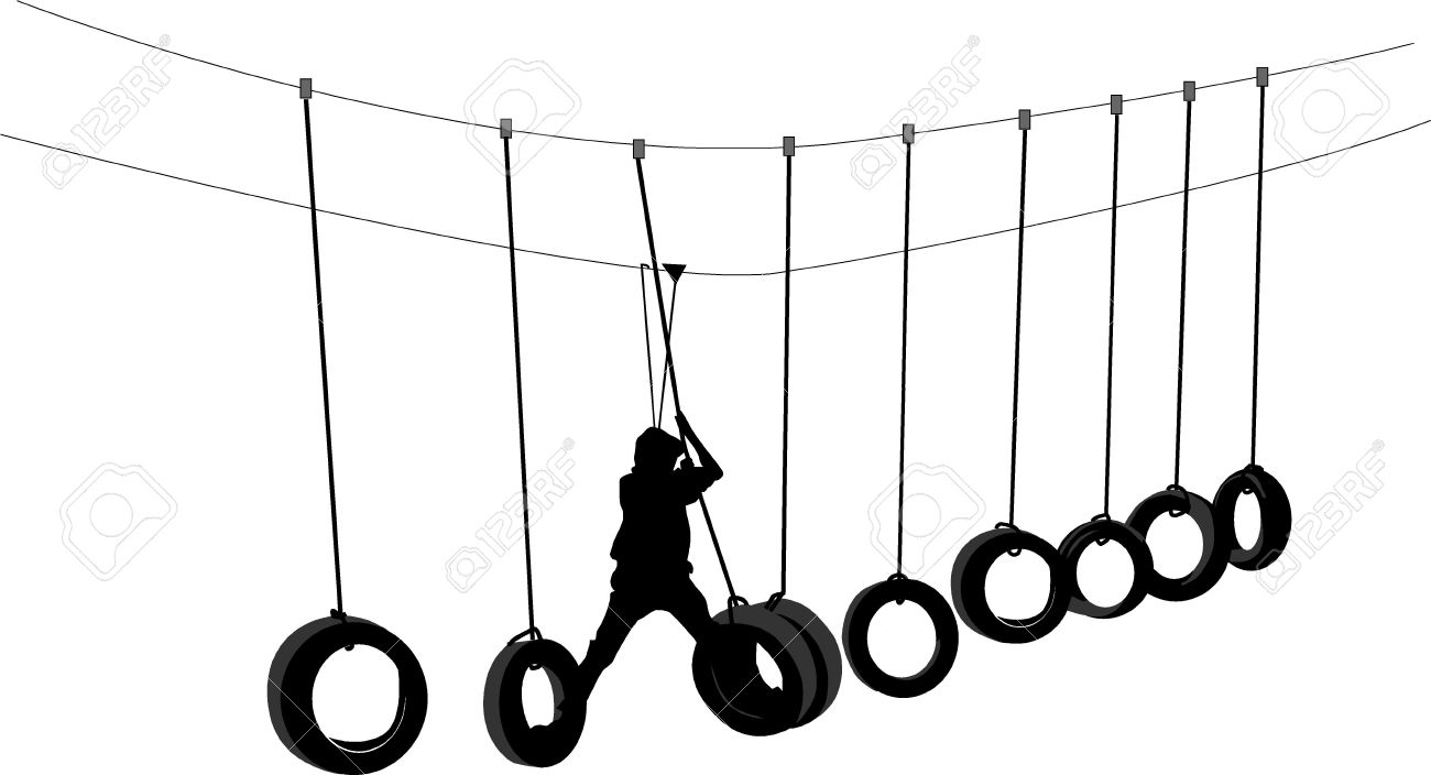 High Ropes Royalty Free Cliparts, Vectors, And Stock Illustration.