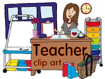 High School English Teacher Clipart.