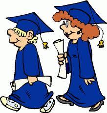 High school graduation clipart.