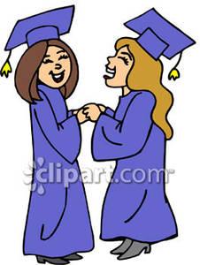 Clip art high school graduation.