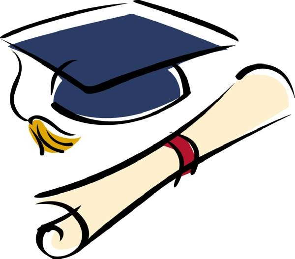 High school graduation clip art free.