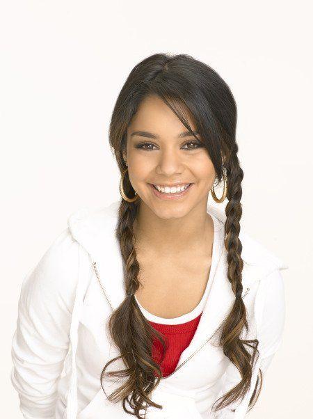 Vanessa Hudgens in High School Musical 2 (2007).