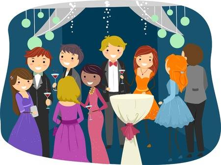 110 High School Prom Cliparts, Stock Vector And Royalty Free High.