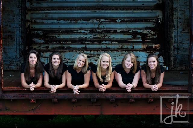 First High School Senior Group Shots.