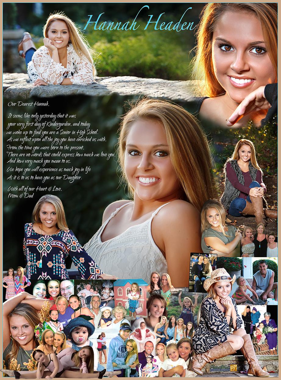 Custom Senior Yearbook ads & Graduation Invitations.
