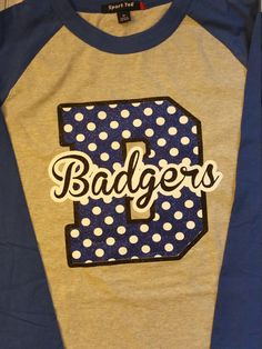 Cougars tee, spirit tee, baseball tee, personalized team shirt.