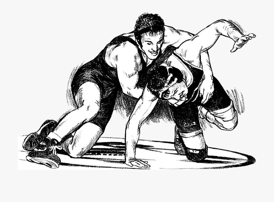Wrestlers Vector High School Wrestling.