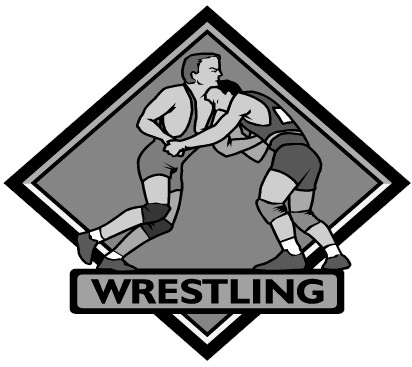 Free wrestling clipart free images.