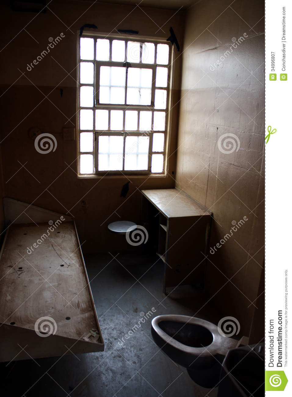 Solitary Confinement Royalty Free Stock Photography.
