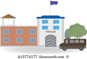 Maximum security prison Clipart Royalty Free. 16 maximum security.