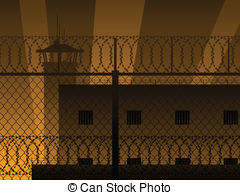 Maximum security prison Clip Art Vector and Illustration. 19.