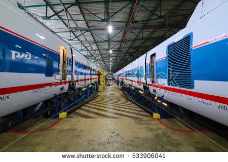 High Speed Train Stock Photos, Royalty.
