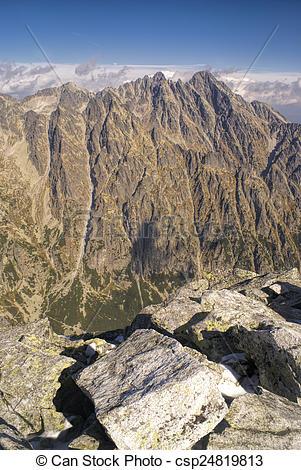 Stock Photography of High Tatras.