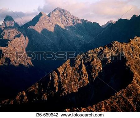 Stock Photo of The Tatra Mountains. The High Tatras l36.