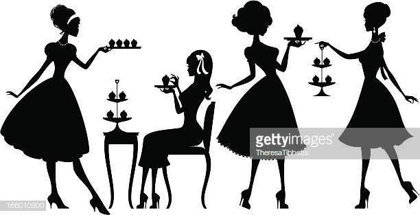 60 Top Afternoon Tea Stock Illustrations, Clip art, Cartoons.