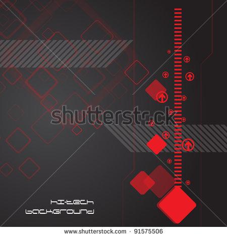 High Tech Abstract Clipart.