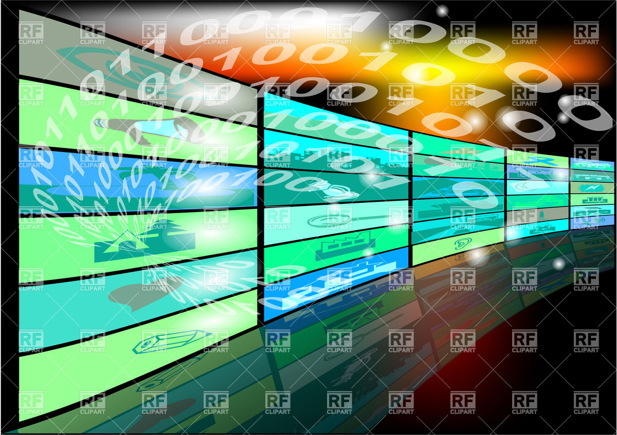 Abstract high tech background Vector Image #24980.