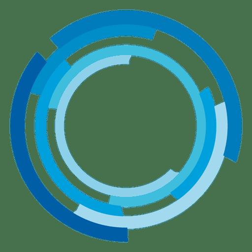 High tech rings logo.