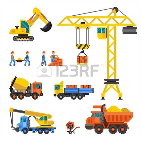 Construction Technic Stock Vector Illustration And Royalty Free.