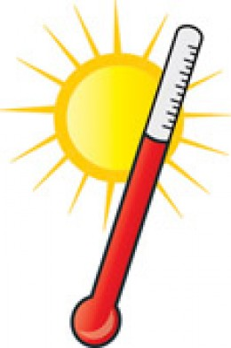 High Temperature Clip Art.