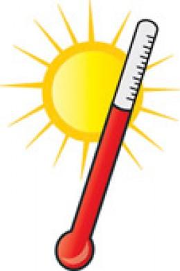 High Temperature Clip Art.