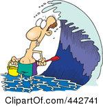 High Tide Clipart.