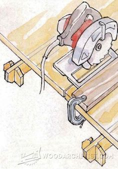 Circular Saw Crosscut and Miter Jig.