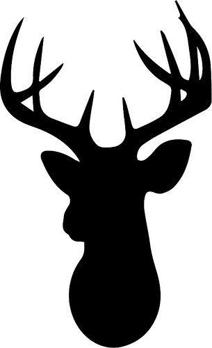 1000+ ideas about Deer Head Silhouette on Pinterest.